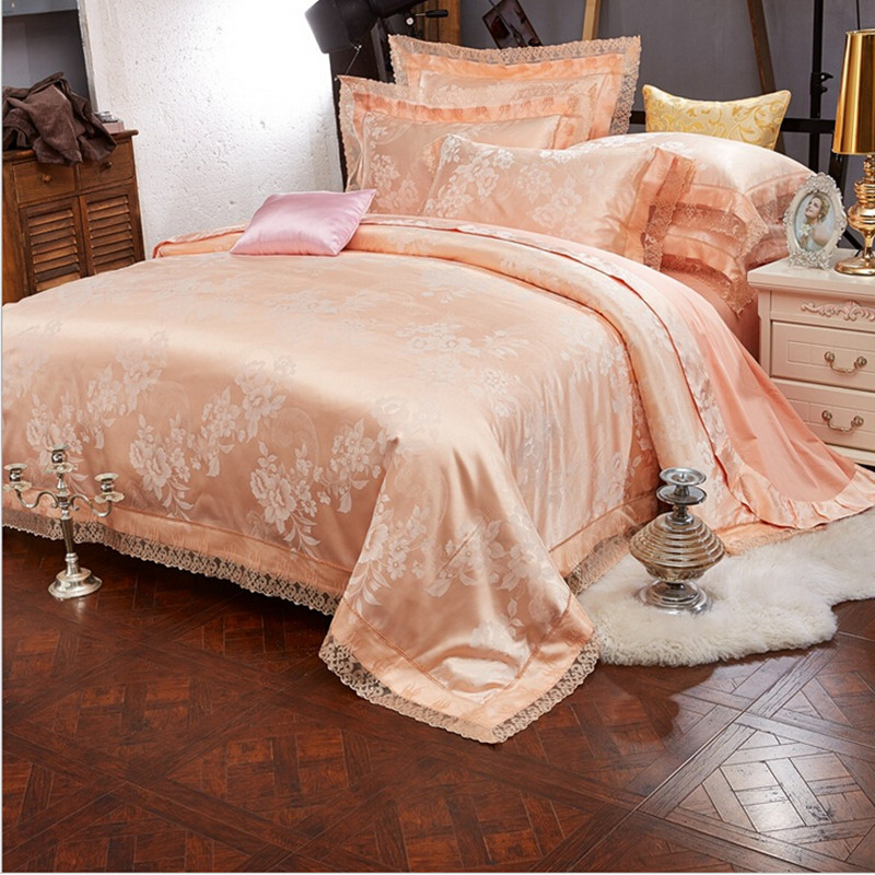 100% Cotton Tribute Couple Comforter Bedding Set 4pcs Bed Linen Hotel Duvet Cover Set King Queen Size Bed Sheets Pillowcase(China (Mainland))