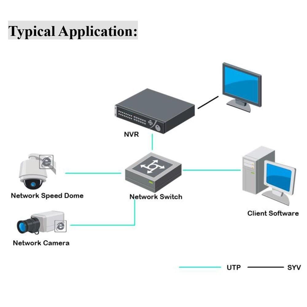 Купить Hikvision DS-7608NI-E2 США Английская Версия Встроенный 8 Канала NVR 1080 P 2 SATA (Может Быть Обновление)