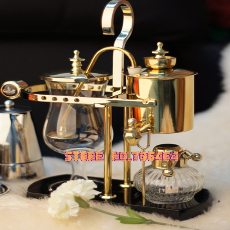 Aliexpress.com : Buy Gold Belgium royal brewer Siphon coffee machine high quality Balance coffee ...