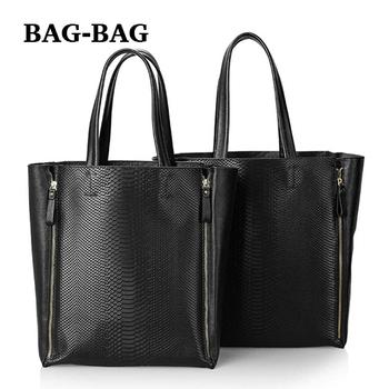 2015 новый большой комплект женщин из натуральной кожи сумки на ремне , змея зерна сумки реальная кожа сумки мода девушка золото B307