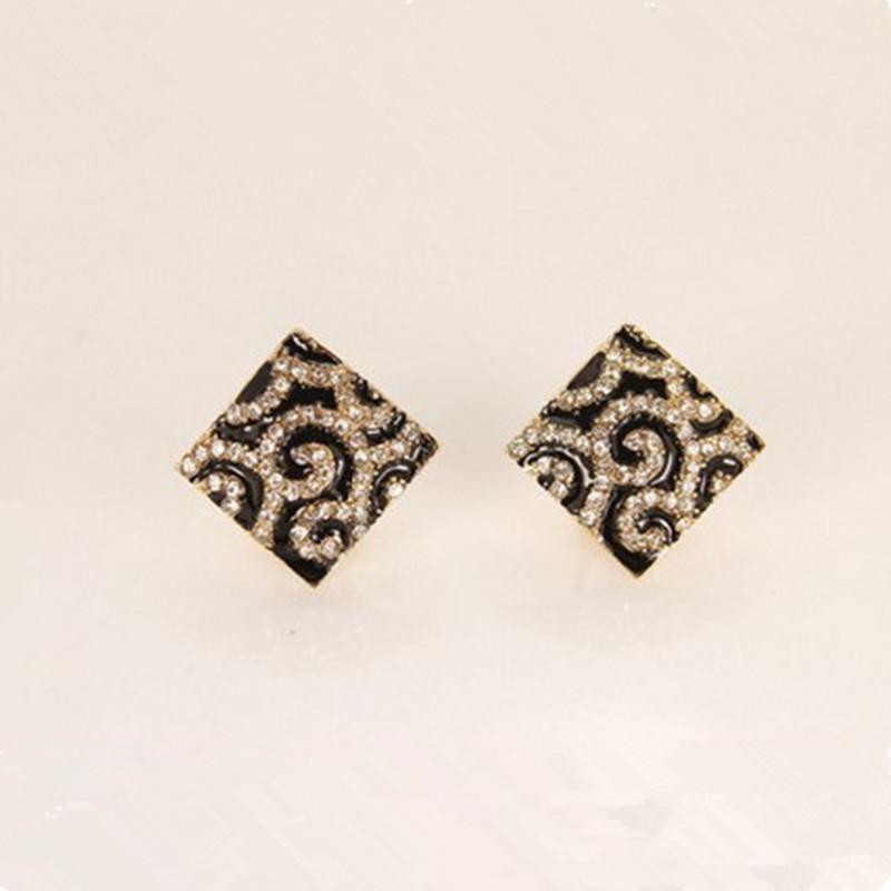 Free shipping 2015 New Design Fashion Leopard Stud earrings ear cuff ear clips jewelry Wholesales AAA!!!<br><br>Aliexpress