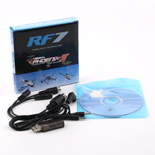 22 in 1 22in1 RC USB Flight Simulator Cable for Realflight G7 / G6 G5.5 G5 Phoenix 5.0 Flysky FS-I6 FS-TH9X FS-T6 FS-CT6B(China (Mainland))