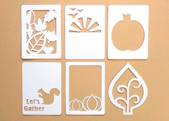 Let's Gather Autumn gift tags Fall Wedding wish tree hang tag pocket scrapbooking birthday party favor package cards(China (Mainland))