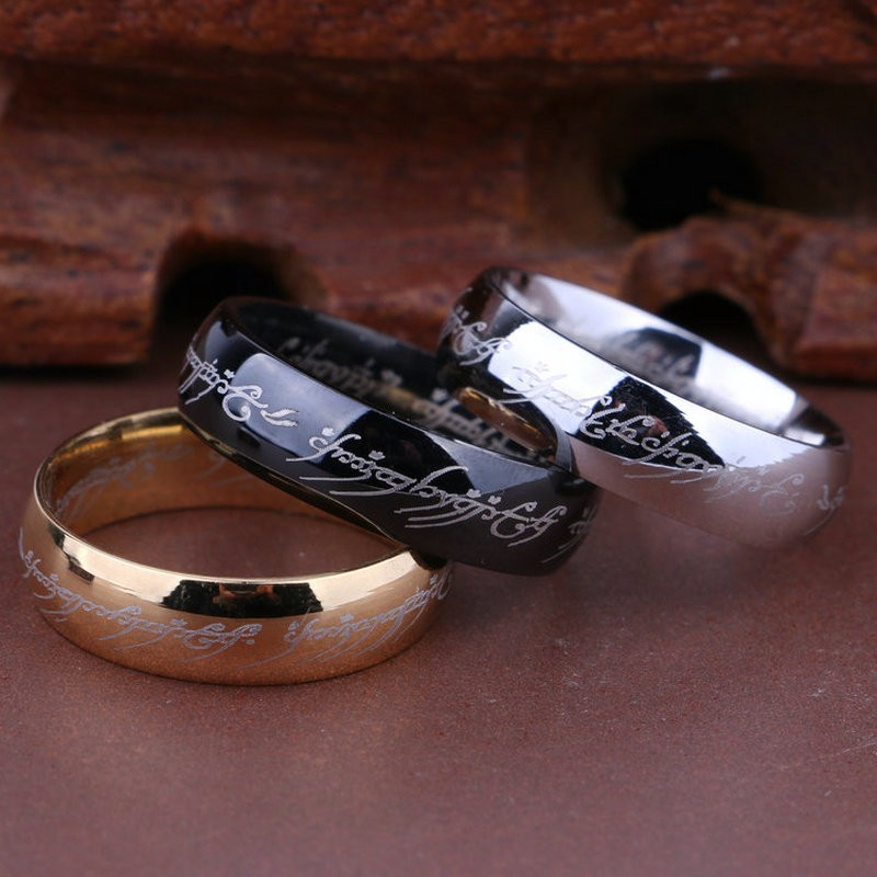Factory-direct-3-colors-316l-stainless-steel-ring-Lord-Of-The-Rings-for-women-and-men