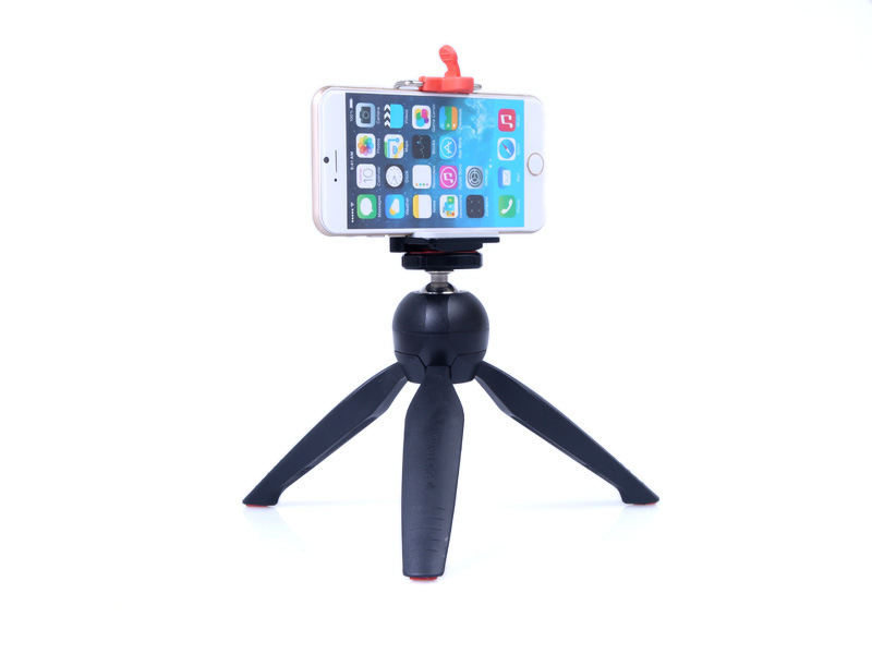 Mini Light Table Tripod Portable Selfie Stick Holder DSLR DV Camera Tripod Mobile Phone Holder With 1/4 Screw Nice Stability(China (Mainland))