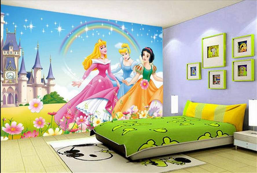 mural wallpaper kids room girls room 3d photo wallpaper cartoon disney