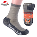 NatureHike Comfortable And Breathable Men Women Unisex Warm Winter Cotton Sports Merino Wool Quick Drying Socks