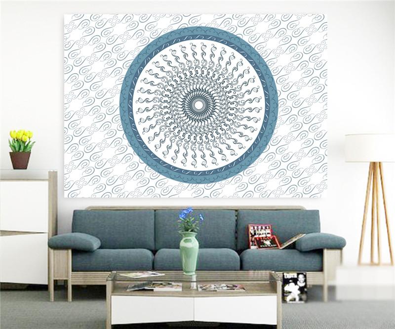 SleepWish Secret Space Tapestry Hanging Wall Art Tapestry Fabric Mandala Bed Sheet Carpet 140cmx210cm marocco decor Promotion(China (Mainland))
