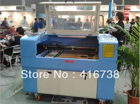 hot sale laser engraving machine 6090 in show