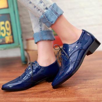 2015 Новый стиль женщины туфли на высоком каблуке мода Кожа PU является высокотехнологичным ...