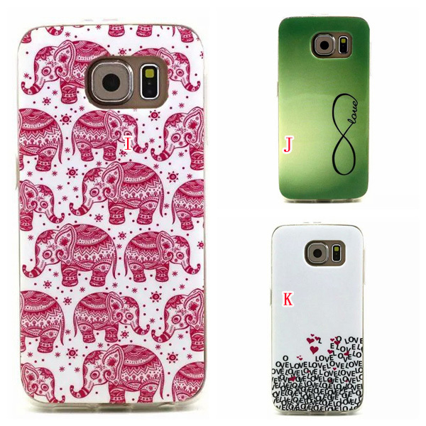 For Samsung Galaxy S5 I9600 / S6 G9200 Moon Bear Heart Dreamcatcher Feather Soft TPU Silicone Case Boat Anchor Wave Skin 200pcs(China (Mainland))