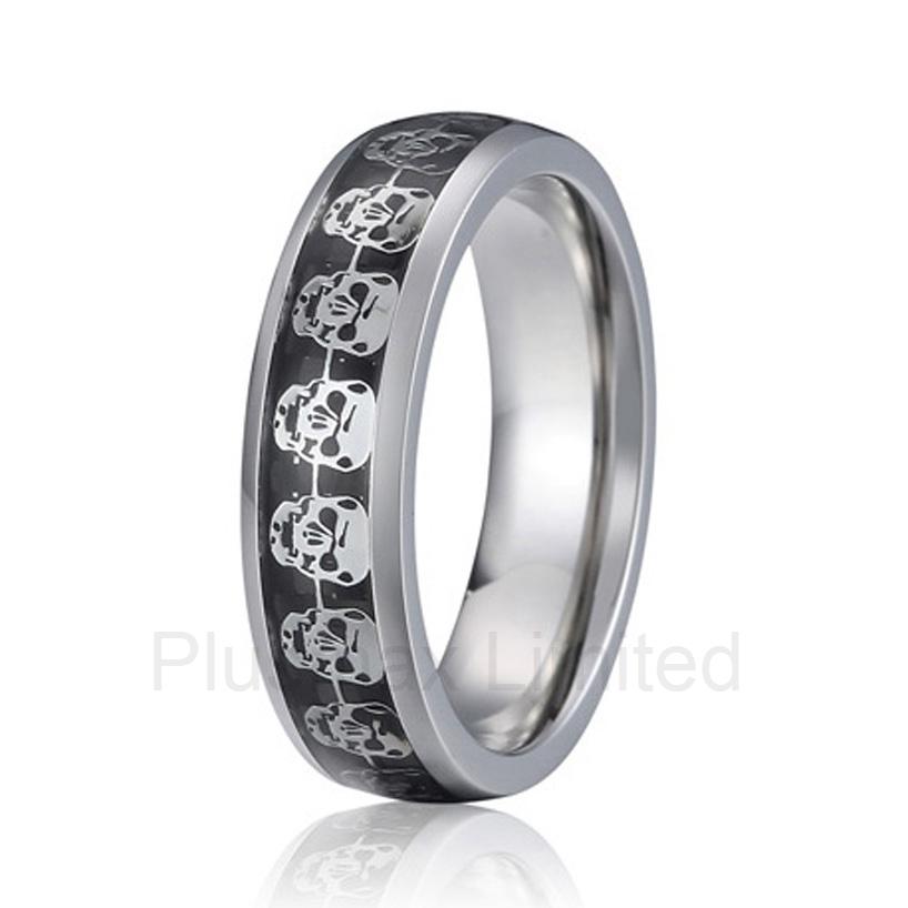 Custom fashion titanium jewelry male vintage unique pattern design engagement rings wedding band men<br><br>Aliexpress