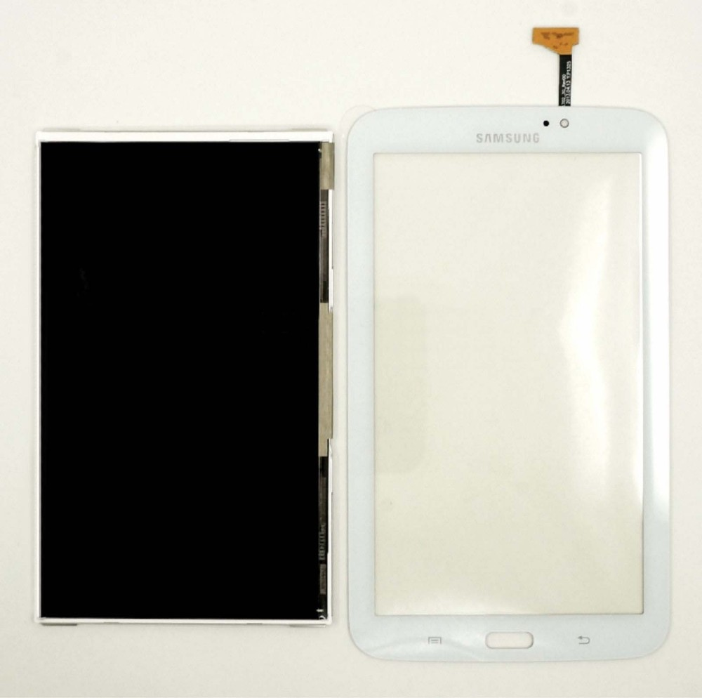 For Samsung Galaxy Tab 3 7.0 T211 White Touch Screen Panel Digitizer Glass Sensor + LCD Display Monitor<br><br>Aliexpress