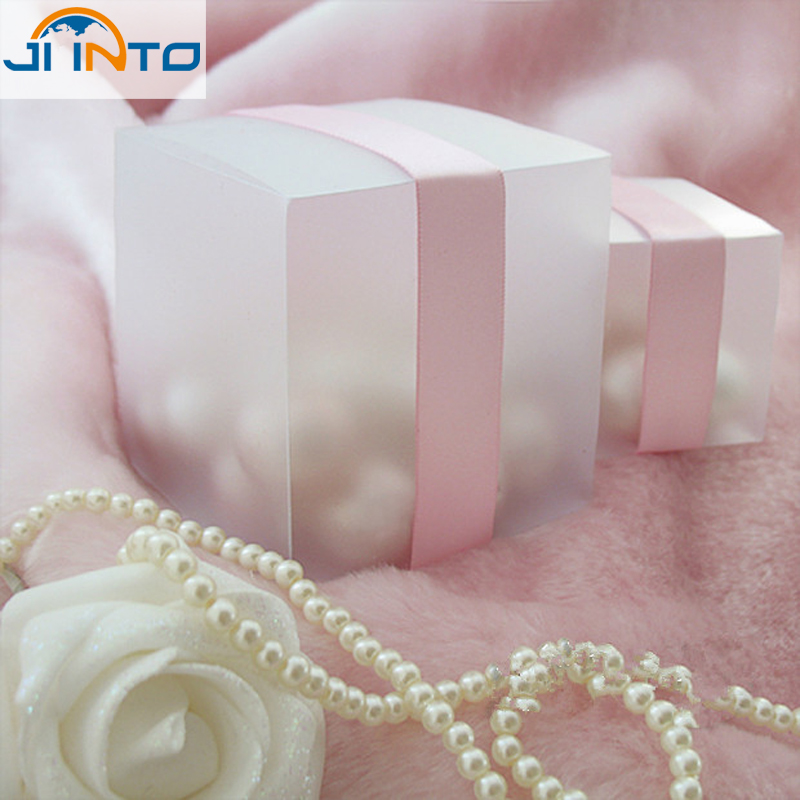 FREE SHIPPING--HOT 5x5 Matte Clear PVC Birthday Gift Box Wedding Favor Boxes Chocolate Candy Boxes Event Sweet Candy Box(China (Mainland))