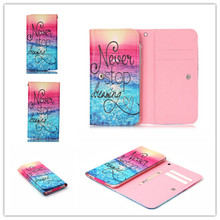 2016 Hot PU Leather Protection Phone Case 12 Painting Card Wallet Intex cloud X+,cloud FX - Leathet House store