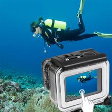 Buy 35m Diving Waterproof Touch Cover Case Xiaomi Yi 4K 2 II Camera Touch Screen Protector Waterproof Housing Case for $7.62 in AliExpress store