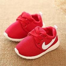 Autunno 2015 scarpe per bambini size21-blu + rosso + nero comodo respirabile sneaker bimbi scarpe ragazzi ragazze scarpe bambino bambino(China (Mainland))