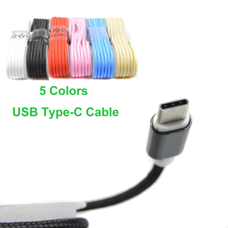 New!!! Nylon Braided USB 3.1 Type C to USB-A 2.0 Cable For OnePlus 2 for Google Nexus 5X/6P and Nokia N1 other USB-C devices(China (Mainland))