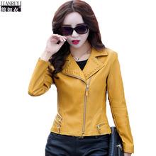 Spring leather jacket Women Plus Size Korean Casual Short Lapel Zipper leather Coat Genuine leather jacket Women Sheepskin(China (Mainland))
