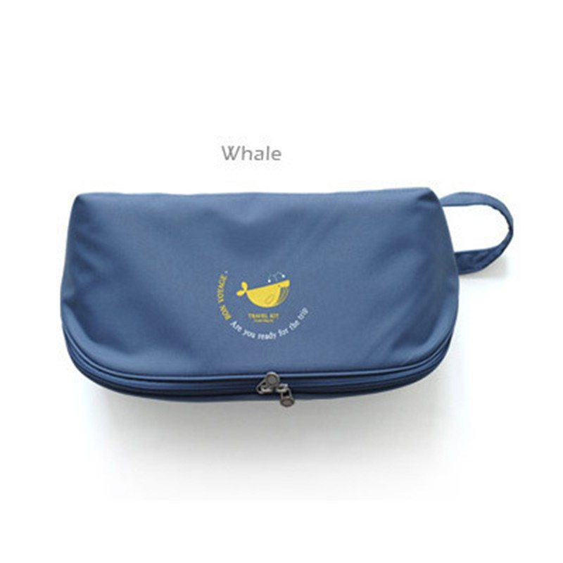 Travel Bags Travelling Box Underwear Storage Waterproof Women Neceser Package Bra panties socks travel portable cosmetic bag(China (Mainland))