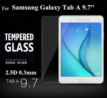 """Tab A 9.7 T550 Tempered Glass Protective Film 2.5D 0.3mm for Samsung Galaxy Tab A 9.7"""" t550 t555 Glass Protector"""
