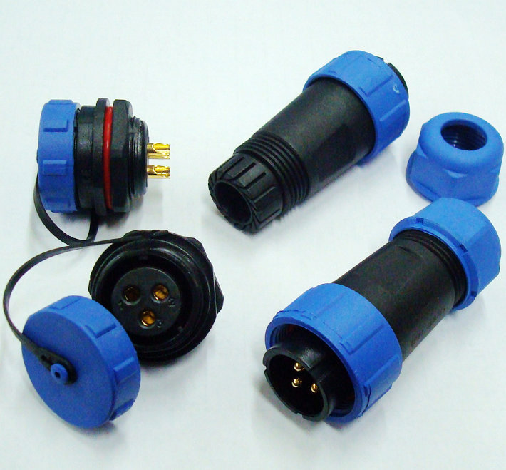 3Pin Waterproof Connector,IP68,Cable Connector,Plug and socket.connectors auto,electrical connectors(China (Mainland))