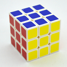New 6 color Small size Magic Cube 3x3x3 Puzzle Educational Children Toys free shipping