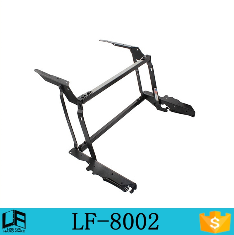 furniture metal coffee table mechanism lifting frame,table top hinge, scissor lift table LF-8002(China (Mainland))