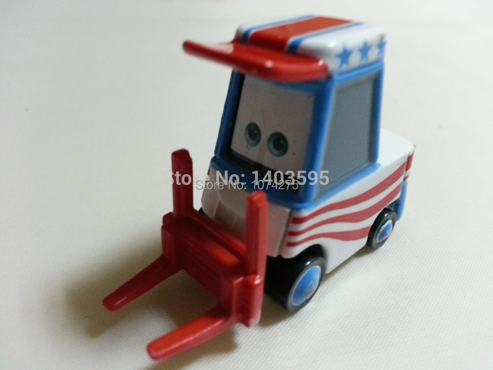 Pixar Cars Toon Lug Metal Diecast Toy Car 1:55 Loose Brand New In Stock & Free Shipping(China (Mainland))