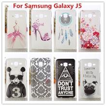 Роскошные кристалл алмаза 3D чехол для Samsung Galaxy J5 / шику блеска трудно защитная крышка для Samsung Galaxy J5 J500 J500F чехол