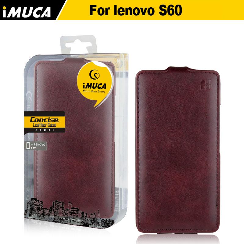 IMUCA original <font><b>Lenovo</b></font> <font><b>s60</b></font> case cover luxury leather flip for <font><b>Lenovo</b></font> <font><b>S60</b></font> S60T S 60 phone cases accessories bags
