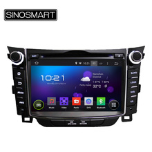 Free Shipping Android 5.1 Built in Wifi car DVD GPS for Hyundai I30 2011-2013 Support 3G/OBD 4 Core CPU HD Screen 1024*600(Hong Kong)