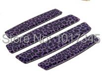 Top Carbon fiber Crystal bumper strip Car door sticker flexible glue anti-collision sticker Modification car sticker(China (Mainland))