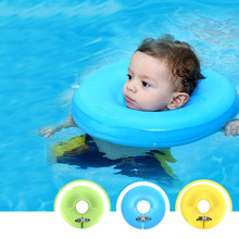 New 1 Pieces Aids Infant Swimming Neck Inflatable Float Safety Ring Baby Collar For Swim Pool Toys Summer Best Gift Multicolor