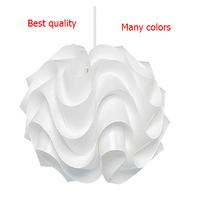 New Modern Le Klint 172 Pendant Lights White Plastic Lampshade PVC Pandent Lighting 430mm Lamp Lighting Wave Lustres De Teto E27(China (Mainland))
