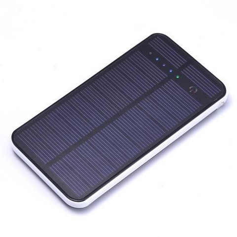 Large capacity Solar Power Bank 12000mah polymer solar mobile power supply Battery forall mobile phones Can sun charge(China (Mainland))