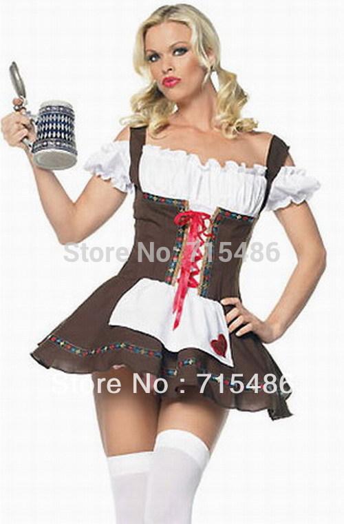 Сексуальный немецкий пиво горничная костюм(China (Mainland)).