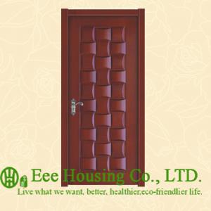 40mm thickness Timber veneer door for residential villa, Swing type door, inward &amp; outward opening entry door, MDF Timber door<br><br>Aliexpress