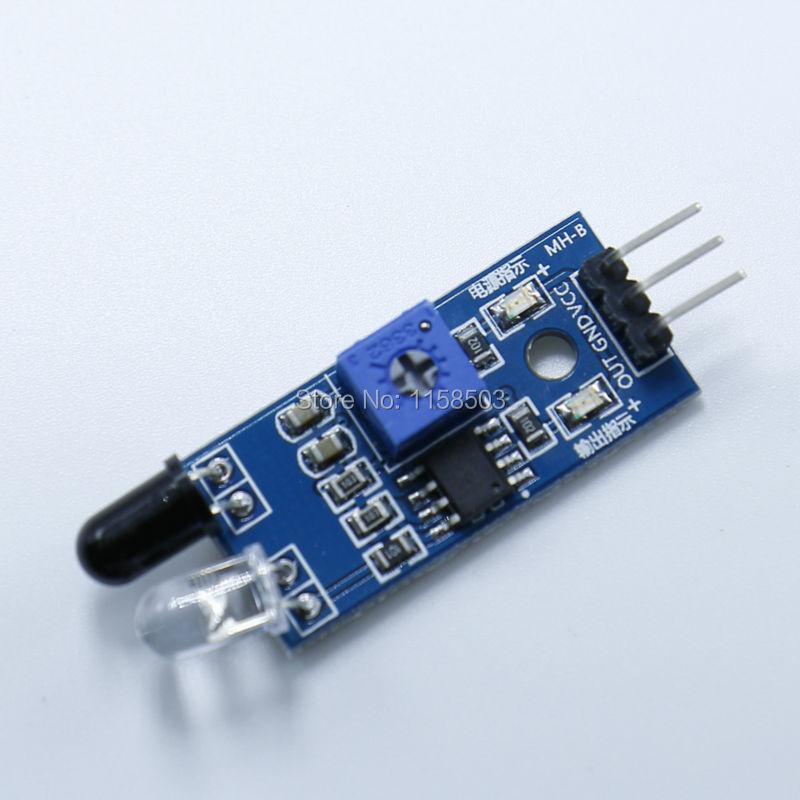 Pcs lot ir infrared obstacle avoidance sensor module for