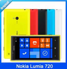 Unlocked Nokia Lumia 720 Windows Phone 8 Dual Core 1.0GHz 8GB ROM 4.3″IPS Screen 6.7MP 3G GPS WIFI Smartphone Free Shipping