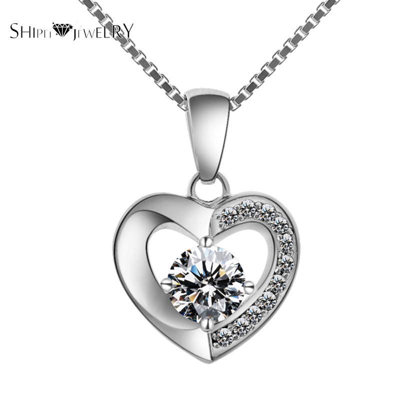 Brand Jewelry!SHIPEI 2017 European White Gold Plating with Luxurious Round Imitation Diamond Woman Necklace,Carat Weight:1.88(China (Mainland))
