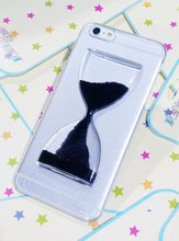 """New Dynamic Liquid Hourglass Sand Quicksand Case For iphone 6 Crystal Clear Hourglass Back Cover For Apple iphone6 4.7"""""""
