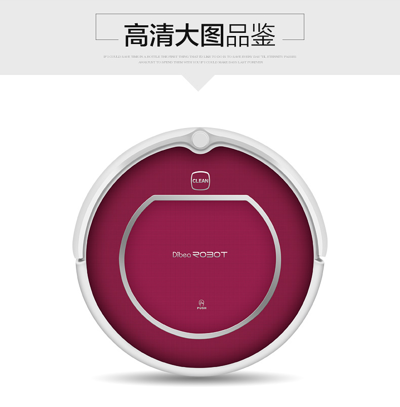 Promotion Dibea XL580 Sweeper Robot Vacuum Mother's Russia Discount New Cleaner for Househould(China (Mainland))