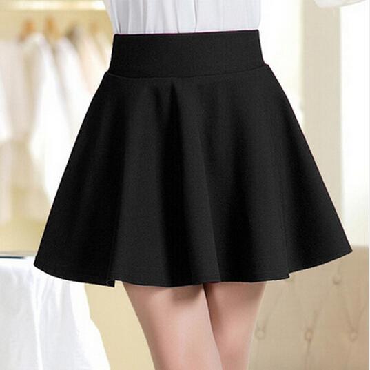summer short skirt for women 2015 Sundress All Fit Tutu Skirt white black color Women Clothing Short Skirts Faldas Ball Gown(China (Mainland))