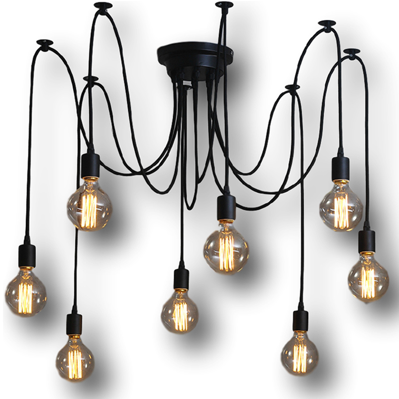 Creative lampshade suspension luminaire chandelier cord ac 51 60w classical s - Fabriquer suspension luminaire ...