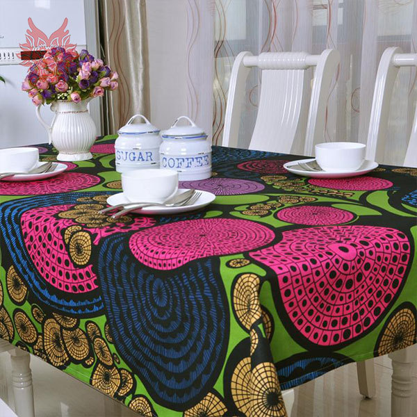 Hot sale Modern style scenic print Table Cloth 100%cotton canvas table cover for Dining, Kitchen Home Textile SP1122(China (Mainland))