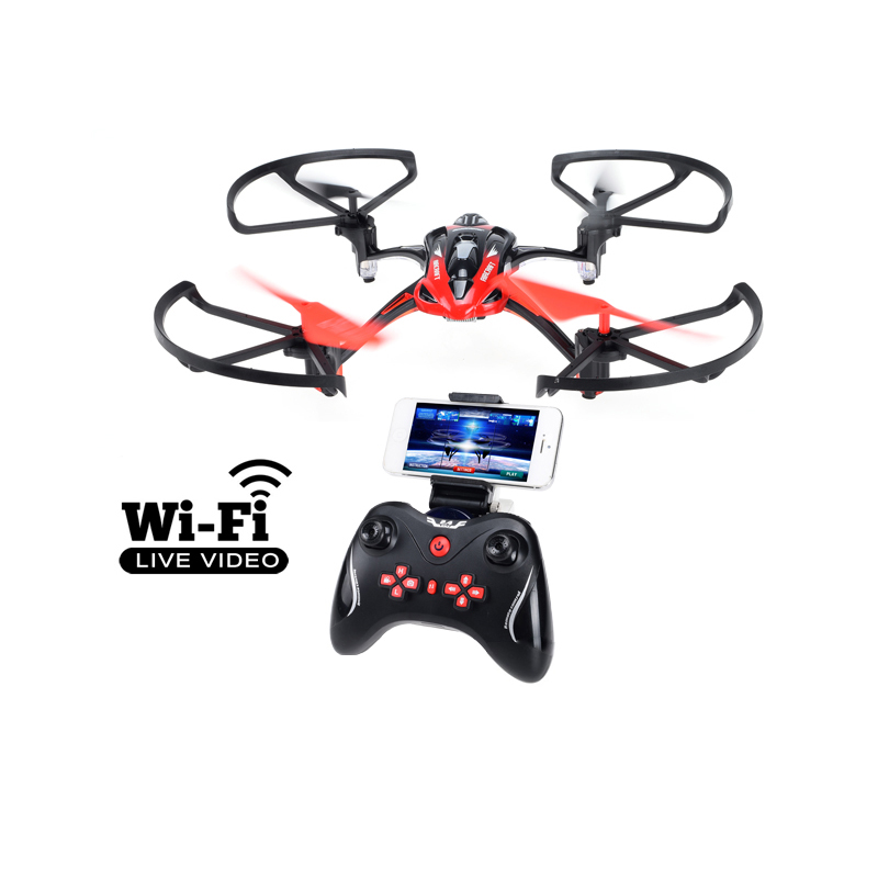 Lishitoys L6052 Quadcopter 6Axis RC Helicopter with Wifi 0.3MP HD Camera FPV Profissional Drone Realtime Transmission Gift