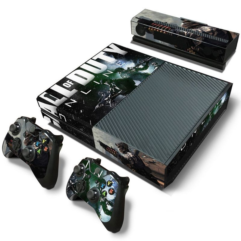 Call of duty skin sticker For Microsoft Xbox One vinyl cover sticker for xbox one console controle skin for xbox one