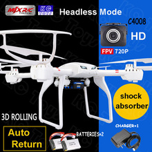 Original MJX X101 RC helicopter drone quadcopter 2.4G6-axis 4CH Professional UAV with C4008 camera add 2pcs battery as gift