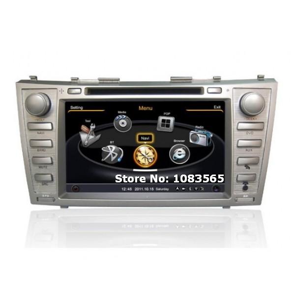 For Toyota Camry Solara 2004 - 2008 GPS Navigation Car DVD Player Radio Stereo S100 Multimedia System(China (Mainland))